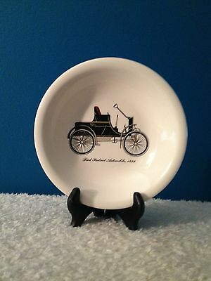 """Harkerware 7-1/2"""" Soup Bowl """"First Packard Automobile 1899"""""""