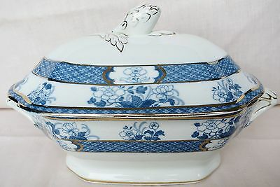 Whieldon Ware Old Nankin Small Serving Dish/Tureen c1910-20 Crazing