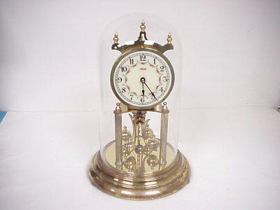 Vintage Kundo 400 Day Anniversary Clock w/key for Winding