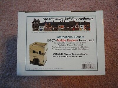 Middle Eastern Townhouse by Miniature Building Authority 2005 unopened