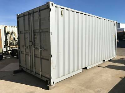 One Trip  20' Insulated Shipping Container With AC Office Workshop Home Storage