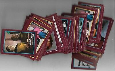 1991 Impel Star Trek 25th Anniversary Trading Cards Mixed Lot 80