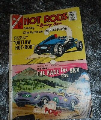 Hot Rods & Racing Cars -Clint Curtis & The Road Knights April 1965 Vol 1 No 73