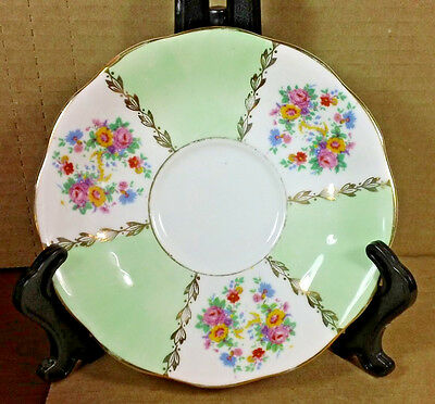 Imperial Saucer Plate Fine English China Floral Patter