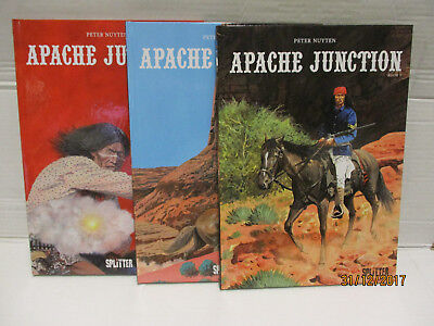 "Apache Junction # 1-3  Komplett  ""wie neu""  Nuyten"