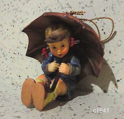 Berta Hummel Goebel Ornament UMBRELLA GIRL -  New In Box
