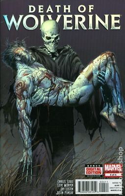 Death of Wolverine #4A 2014 NM