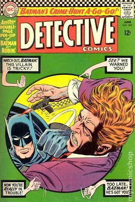 Detective Comics (1st Series) #352 1966 GD/VG 3.0 Stock Image Low Grade