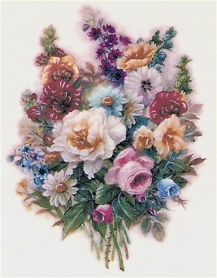 Victorian Flower Bouquet Select-A-Size Waterslide Ceramic Decals Xx