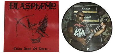 BLASPHEMY - Fallen Angel of Doom  PICTURE LP  CALLER
