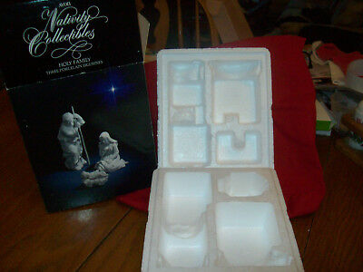 AVON Nativity Collectibles BOX ONLY for Holy Family