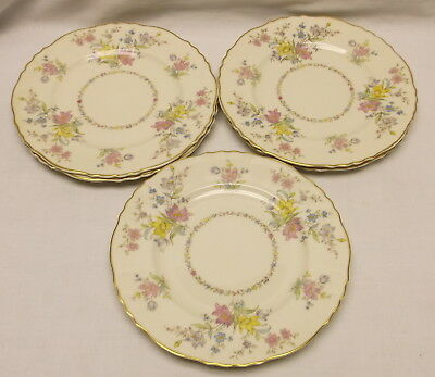 """Syracuse China Briarcliff Federal Shape 8"""" Salad Plate Group Of 6"""