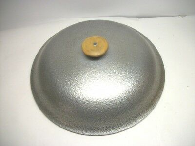 """Large Vintage Hammered Club Aluminum Cookware Lid ONLY 12"""" Dia"""