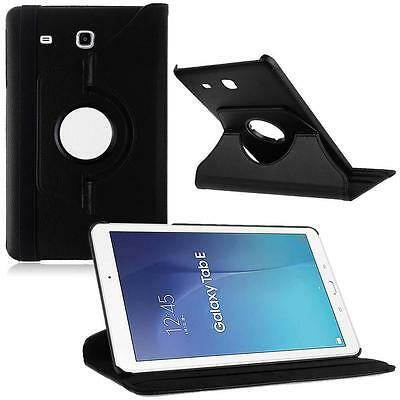 New 360 Rotated PU Leather Smart Case Cover For 9.6 Samsung Galaxy Tab E T560 MT