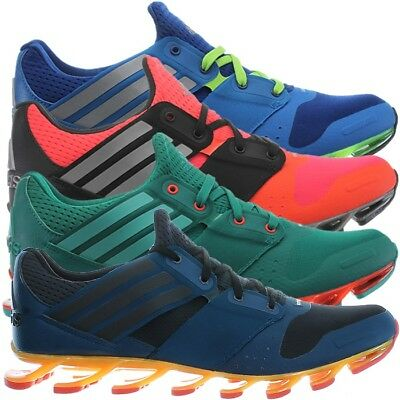 promo code 237da 828ed Adidas Springblade Solyce men s running shoes green red blue jogging shoes  NEW