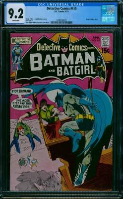 Detective Comics # 410 One more step and this Freak Dies ! CGC 9.2 scarce book !
