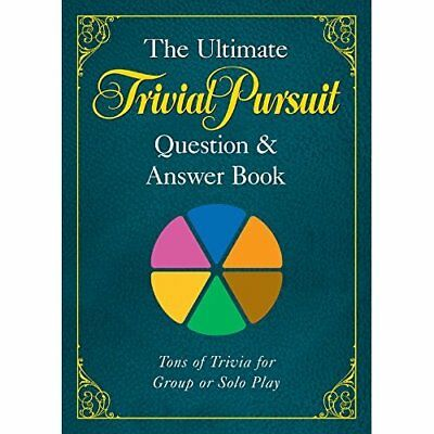 Ultimate TRIVIAL PURSUIT Question and Answer Book, The - Paperback NEW Hasbro 20