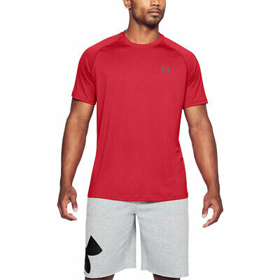 Under Armour Mens 2018 UA Tech SS T Shirt HeatGear Training Tee 31% OFF RRP
