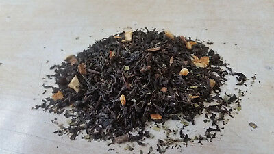 ORANGE SPICE Loose Leaf Flavored Black Tea 125 - 500g 1.1 lb Vacuum Sealed
