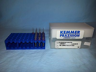 Kemmer Prazision 16 pcs, Solid Micro Carbide Drill Bits .85mm, Clock Repair