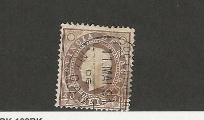 Macao, Postage Stamp, #39 Used, 1888 Portugal Colony