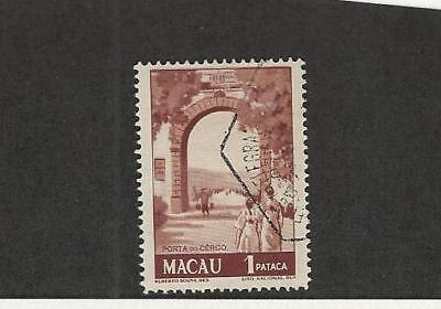 Macao, Postage Stamp, #347a Used, 1951 Portugal Colony