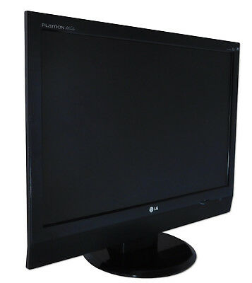 "LG 22"" 56 cm M228WA LCD FLAT TV HD READY SCART DVI S-Video VGA PC Monitor"