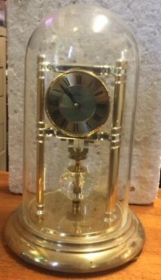 "Vintage ""kern"" Golden  German 400 Day Anniversary Clock Battery W/o"