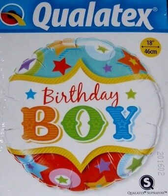 "18/"" HAPPY BIRTHDAY BEST SON IN THE WORLD FOIL HELIUM BALLOON 15174 apac"
