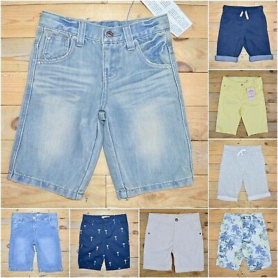 Genuine Uk Seller Boys Girls Multi Choice Cotton Jeans Shorts Listing Save £££