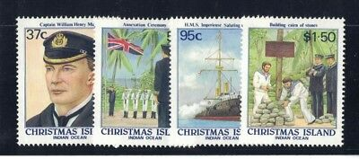 1988 Christmas Island Centenary SG 251/4 fine used set 4