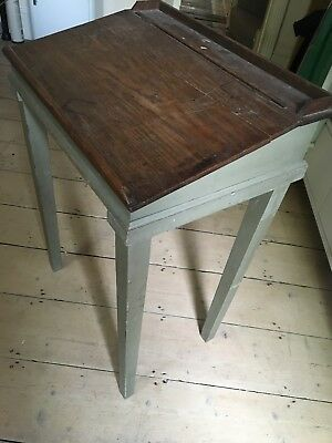 Vintage Writing Desk. Broken Lid.