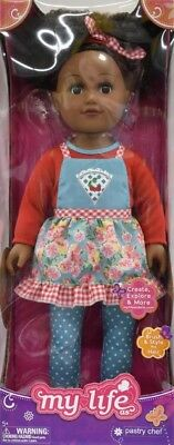 My Life As 18-inch Pastry Chef Doll, African American