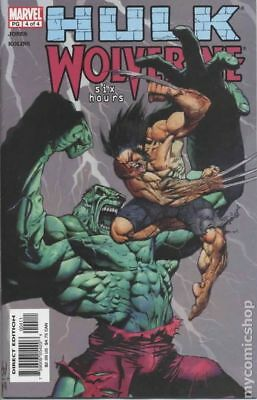 Hulk Wolverine Six Hours #4 2003 VF 8.0 Stock Image
