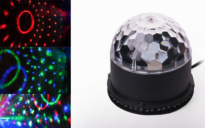LED Disco Licht Discokugel Licht-Effekt Magic Ball DJ Party Discolampe Kugel