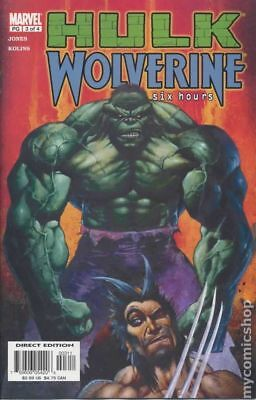 Hulk Wolverine Six Hours #3 2003 VG Stock Image Low Grade