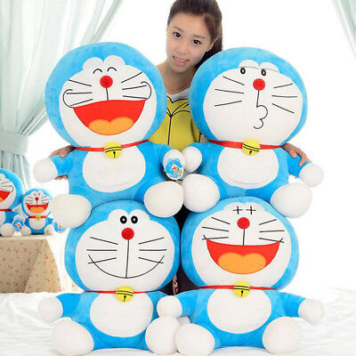 "25cm 10"" Adorable Doraemon Collection Plush Stuffed Animal Toy Smile Style"