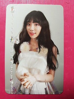 TAEYEON Official PHOTOCARD #1 THIS CHRISTMAS Winter is Coming Album SNSD 태연