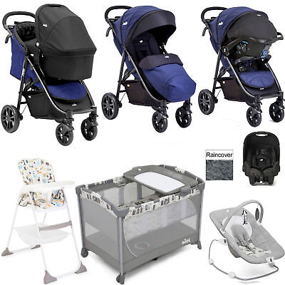 Joie Litetrax Eclipse Everything You Need Gemm Travel System & Carrycot Bundle