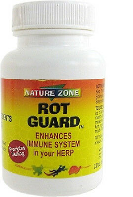 Nature Zone Rot Guard 2 Oz For All Reptiles Turtle New. Free Ship In The Usa