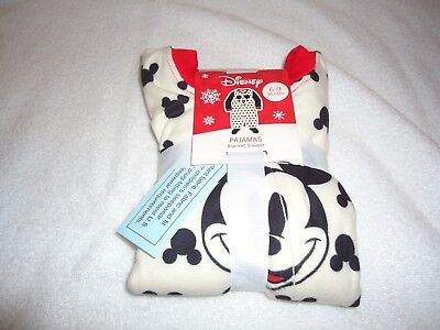 Nwt Disney Mickey Mouse Blanket Sleeper Pajamas Size 6-9 M