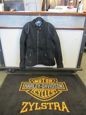 Women's Harley-Davidson Mesh Riding Jacket W/ Removable Waterproof Liner