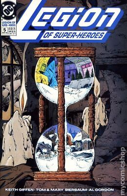 Legion of Super-Heroes (4th Series) #5 1990 VF Stock Image