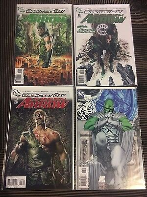 Green Arrow Brightest Day 1-3 Plus Variant #3