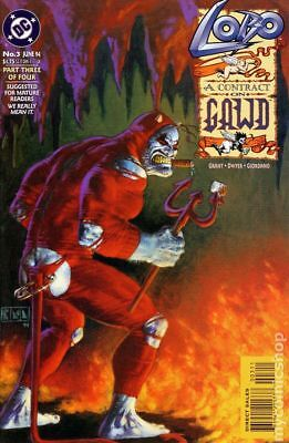 Lobo A Contract on Gawd #3 1994 VF Stock Image