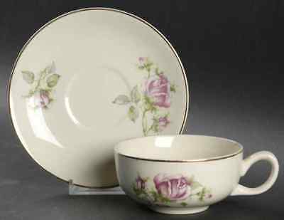 Paden City Pottery PCP15 Cup & Saucer 509614
