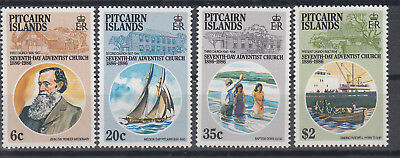 PITCAIRN ISLANDS 1986 7th Day Adventists  set of 4 stamps. SG292/295. MUH. Cheap