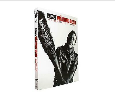 NEW The Walking Dead: The Complete Seventh Season 7 (DVD, 2017, 5-Disc Set)