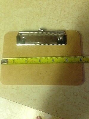 6 x 4 Clipboard clip board for holding small notes custom made Nurses