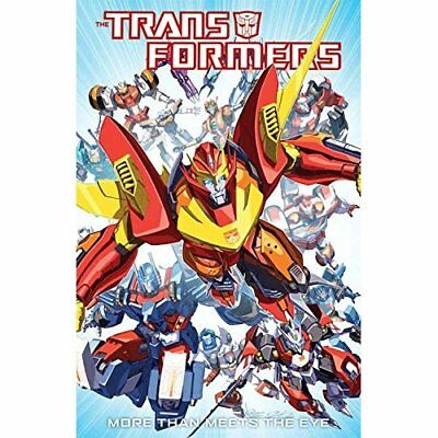 Transformers: More Than Meets The Eye Volume 1 (Transfo - Paperback NEW Milne, A